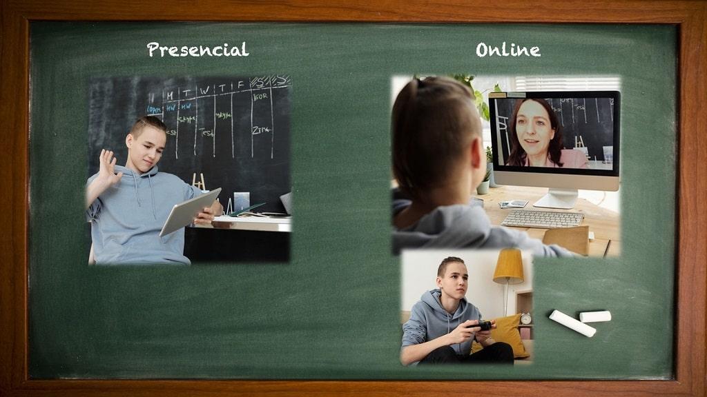 Horaris de Classe Presencial vs Online